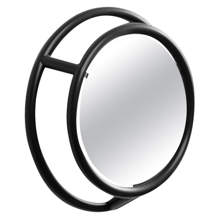 Unique Round and Round Mirror by Kim Thome For Sale