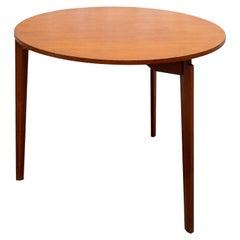 Gio Ponti Style Round Table with three legs Italy Mid-Century Modern