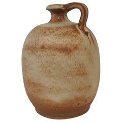 1960s Laszlo Dudas Hand Turned Jug Vase for Ceramano Keramik