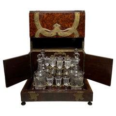 Spaniard Cave A Liqueur/Tantalus Liqueur Wood Box