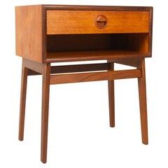 Vintage Danish Teak Side Table 1960s