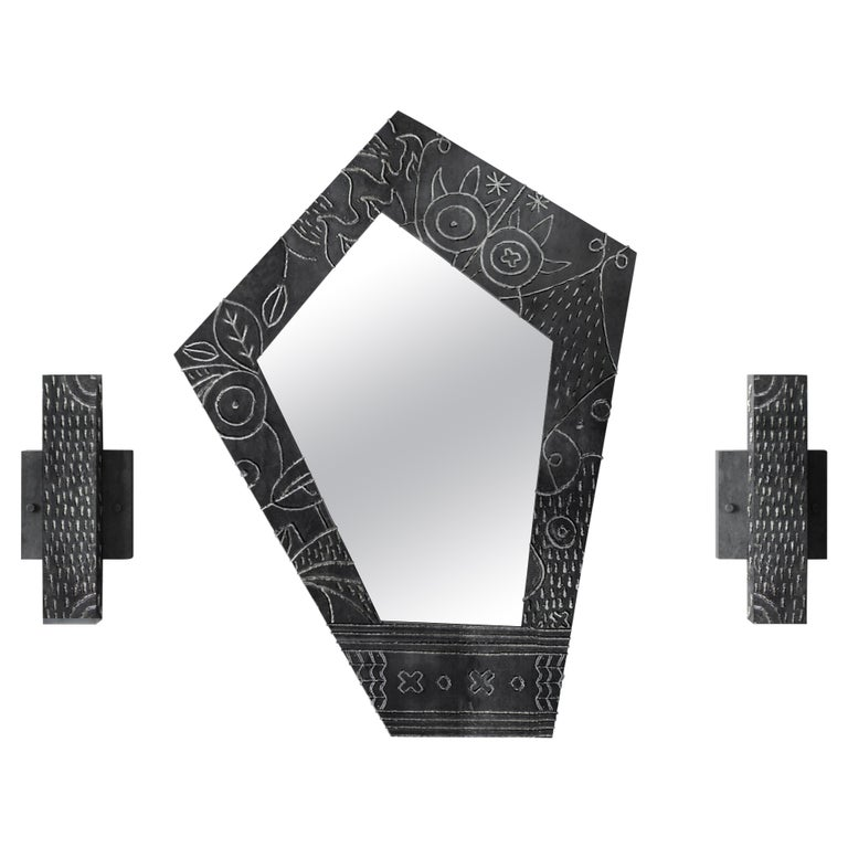 Soldita Mirror by Andre Teoman Studio For Sale