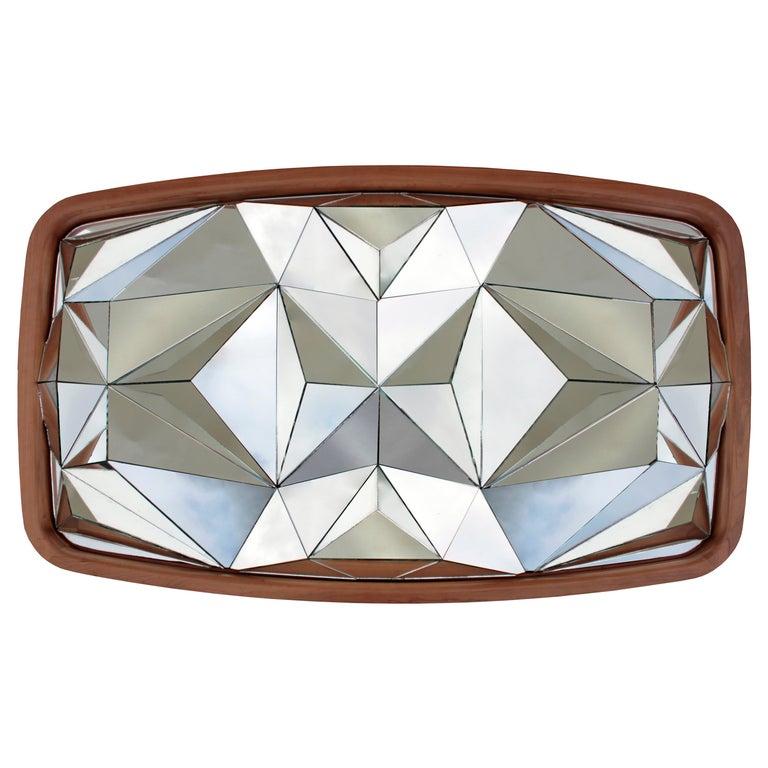 Unique Kaleidoscope Mirror by André Teoman Studio For Sale