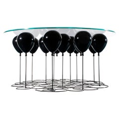 Up! Balloon Coffee Table, Black Edition