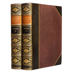 'Book Set' 2 Volumes, Oliver Goldsmith, A History of the Earth & Animated Nature