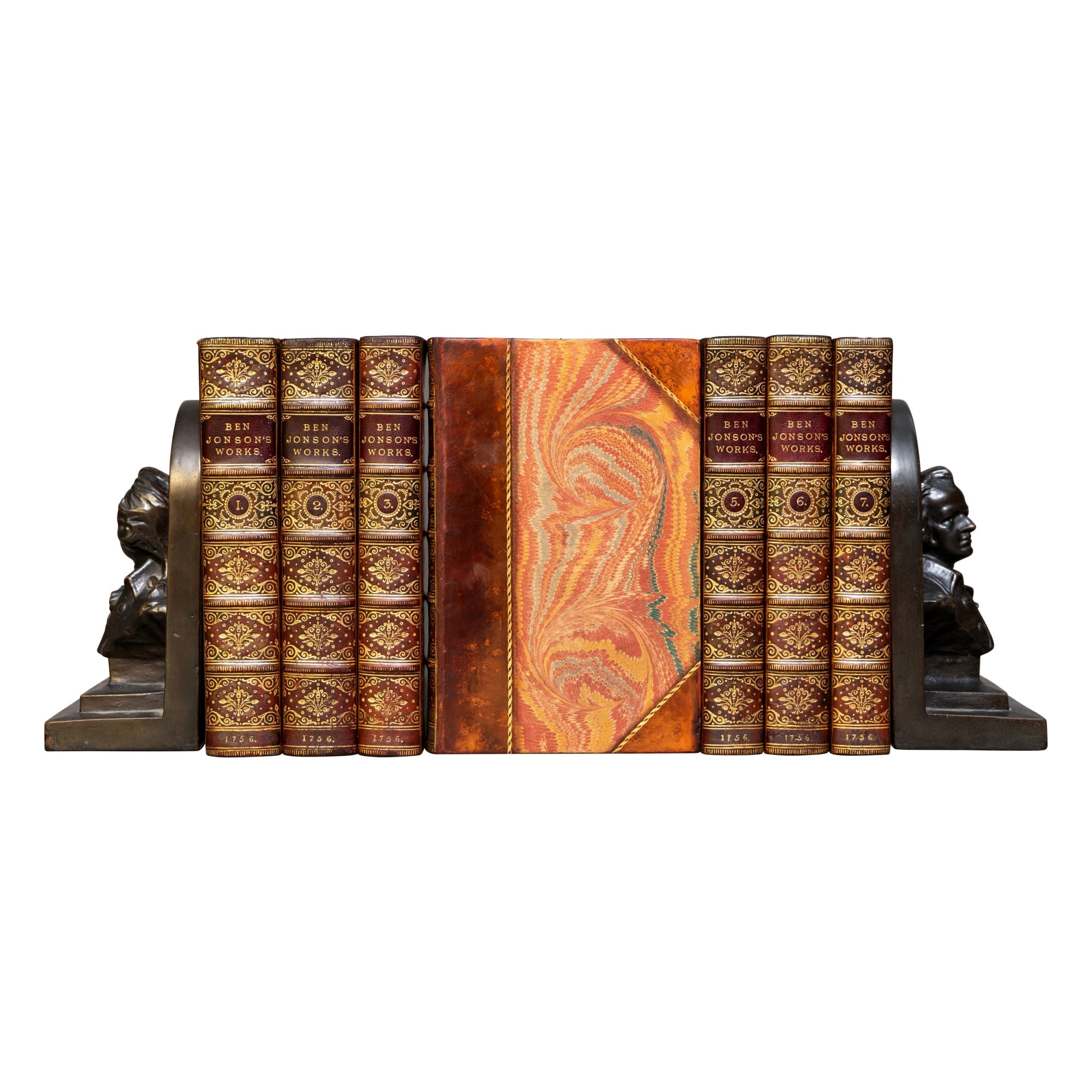 'Book Sets' 7 Volumes, Ben Johnson, the Complete Works