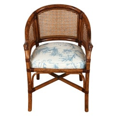 Faux Bamboo Arm Chair