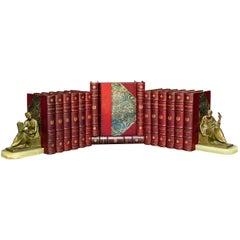 'Book Sets' 16 Volumes, Hazlitt, Junot & Bouurrienne, The Lie of Napoleon