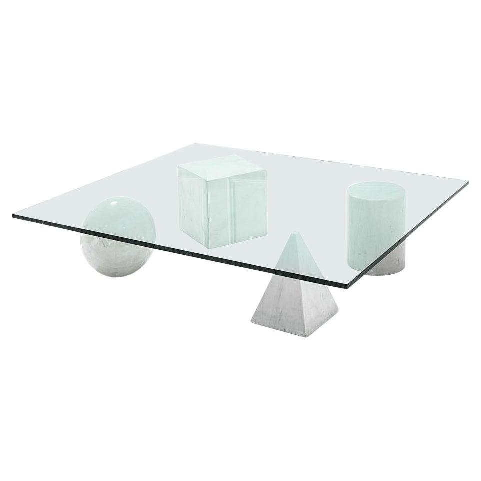 Coffee Table 'Metafora', Lella & Massimo Vignelli