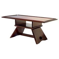 Herman DeVries for Cushman Craftsman Coffee Table of Solid Hard Rock Maple
