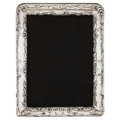 Victorian Sterling Silver Picture Frame