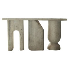 Lätt Contemporary Marble Console by RDLC