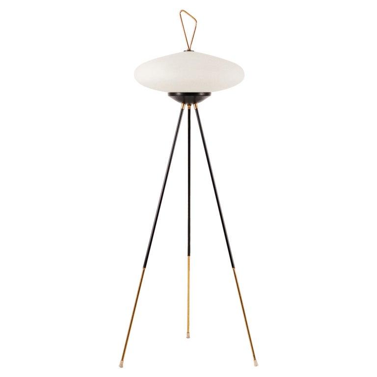 1950's Floor Lamp by Chiarini, Milan For Sale