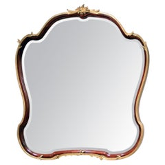 Fine Late 19th / Early 20th Century Gilt Bronze Mounted Mirror, Francois Linke
