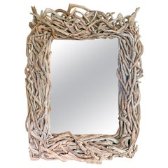 Large Scale Artisan Made Driftwood Mirror