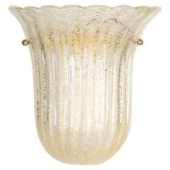 Large Murano Glass Sconce