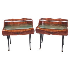 Mid-Century Modern Set of Bedside Tables by Paolo Buffa Italy, 1950s