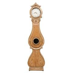 19th Century Swedish Fryksdahl Grandfather Clock w/Original Face & Movement