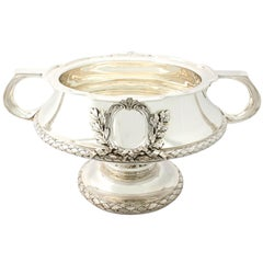 Pair of Sterling Silver Bowls/Centrepieces, Antique George V