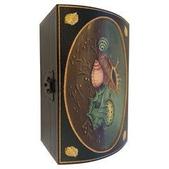 Beautiful Shell Motife Painted Box by Maitland Smith