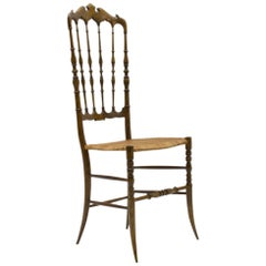 Chiavari Wooden Chair from Rocca, 1960s, Italy