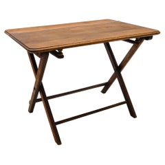 Very Rare Bauhaus Wooden Folding Coffee Table, 1940s Germany