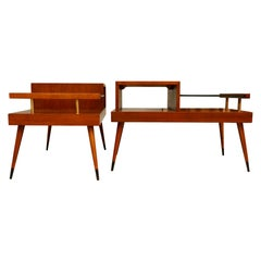 Pair of Classic Mid-Century End Tables