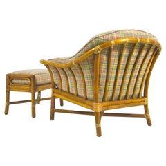 Bernd Munzebrock Lounge Chair & Ottoman by McGuire