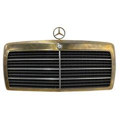 Vintage Mercedes Car Grille Wall Art Sculpture