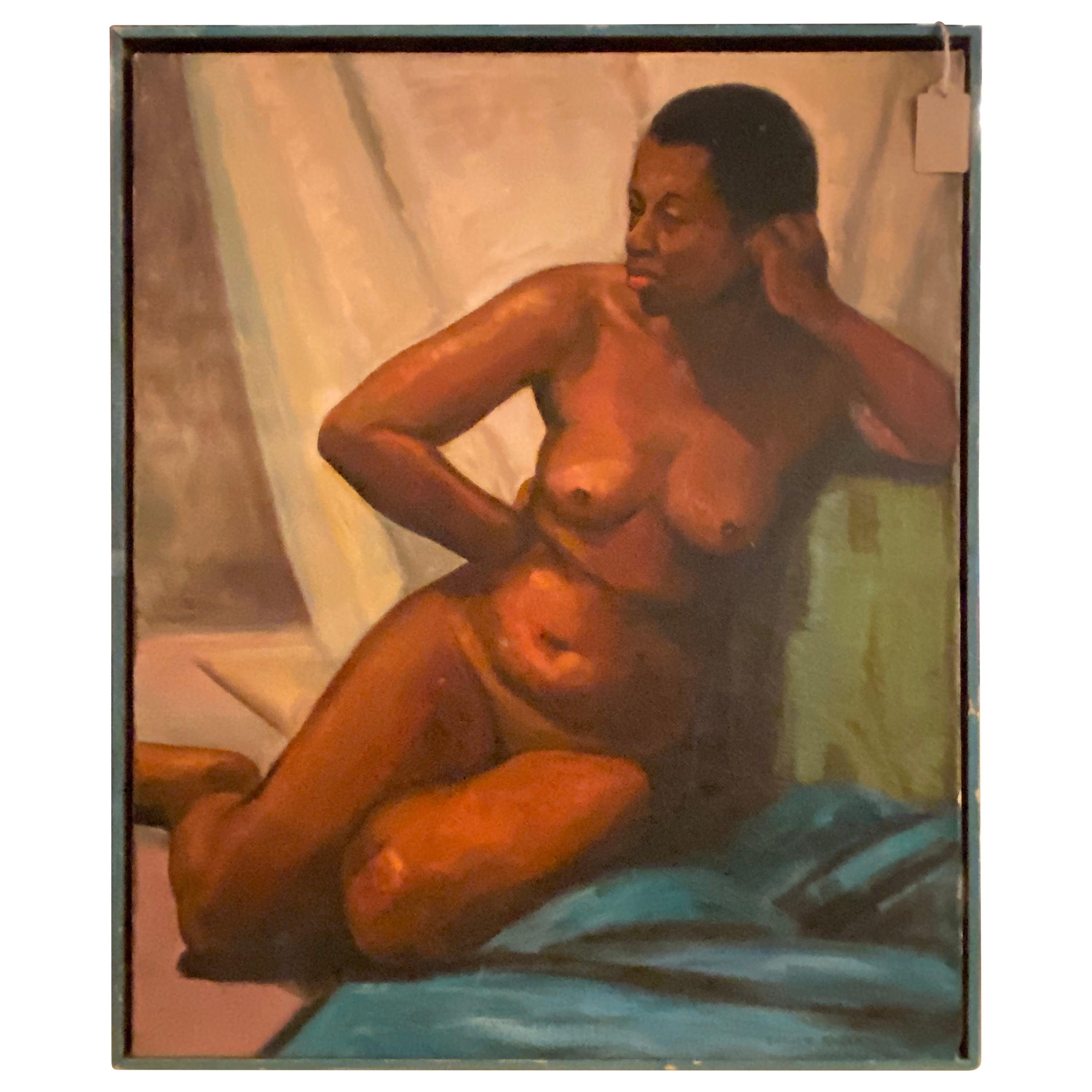 Oil on Canvas Nude Painting