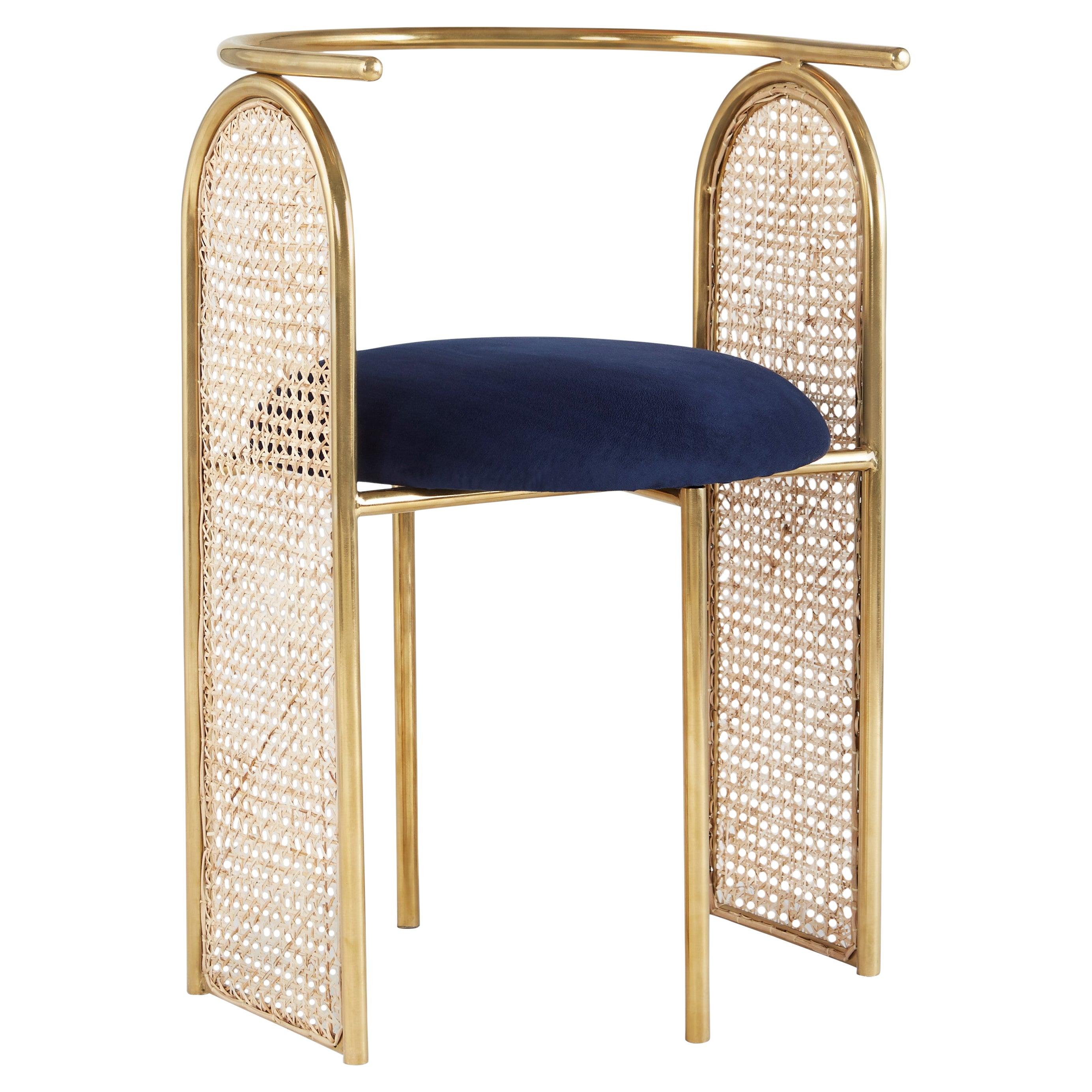 Unique Arco Chair Gold by Saumil Suchak