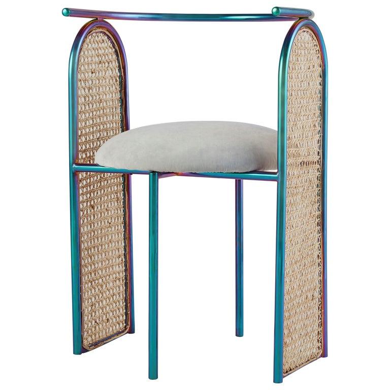 Unique Arco Chair Rainbow by Saumil Suchak For Sale