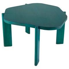 Unique Oak Wood Hex Table by Saumil Suchak