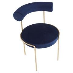 Unique Krest Chair Gold by Saumil Suchak