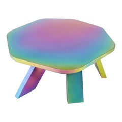 Rainbow Center Table by Saumil Suchak