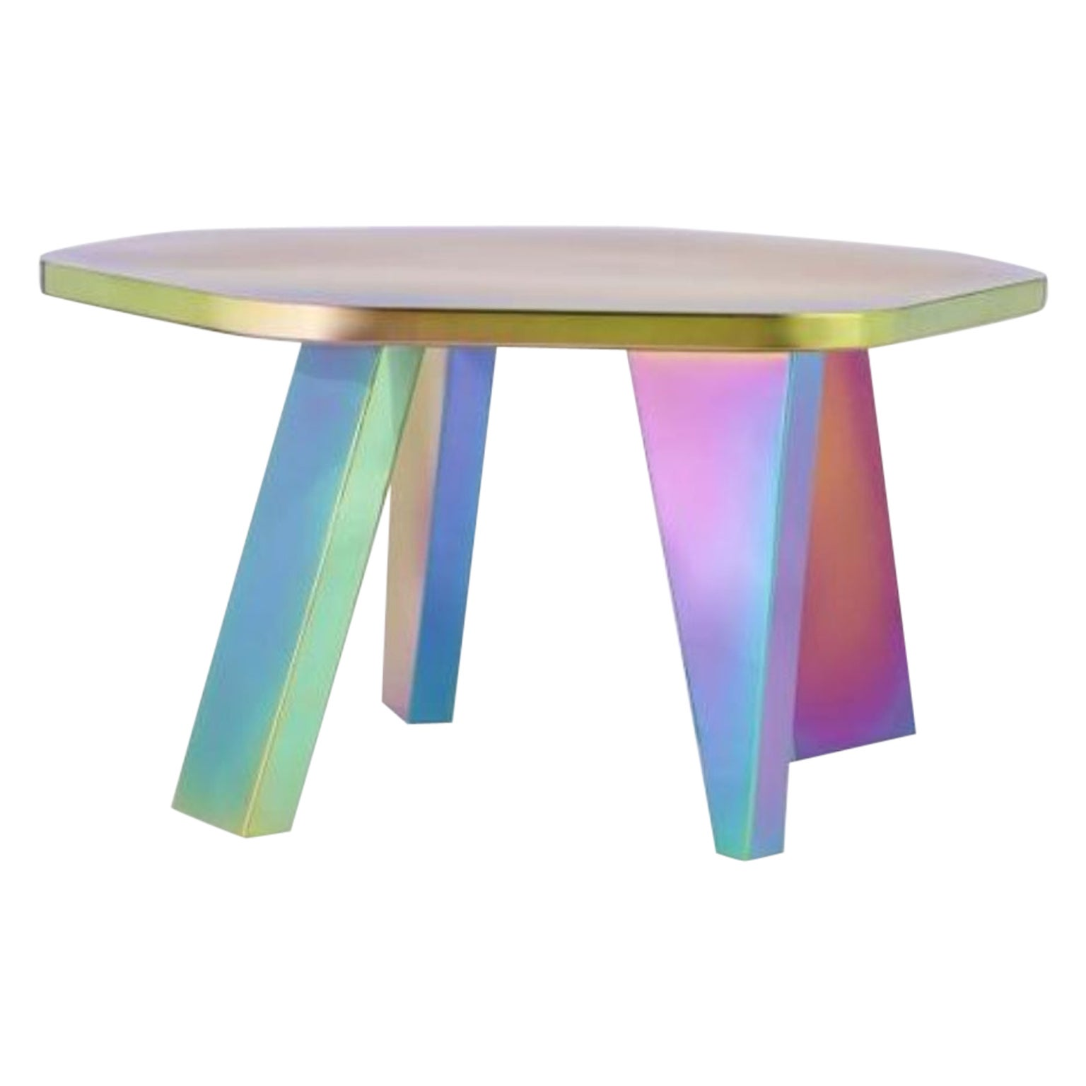 Unique Small Rainbow Center Table by Saumil Suchak