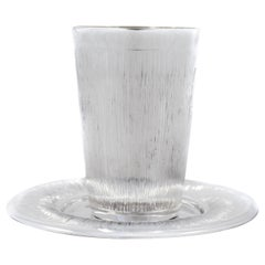 Sterling Kiddush Cup and Plate