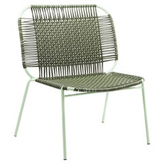 Olive Cielo Lounge Low Chair by Sebastian Herkner