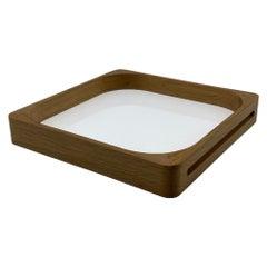 Medium White Oak Square Tray, in Stock
