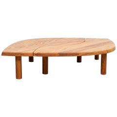 Pierre Chapo T22 Table, Solid Elmwood
