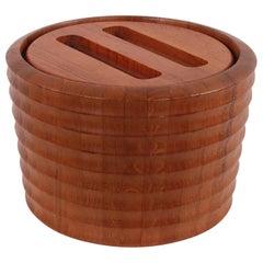 Danish Modern Teak Ice Bucket 1960s Designed by AQ Scanlook