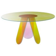 Shimmer Circular Medium High Table