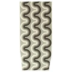 Vintage Kurve Verner Panton Textile. 4 ft 1 in x 8 ft 6 in