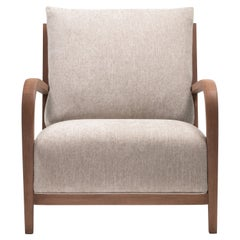 Distinta Armchair, Modern Design Wooden Armchair
