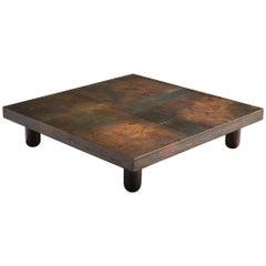 Unique Burchiellaro Coffee Table in Copper