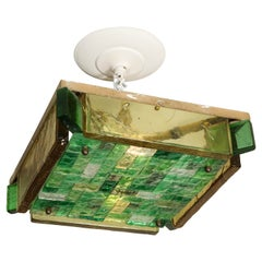 Vintage Poliarte Verona Flush-Mount Ceiling Light