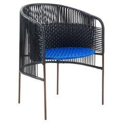 Black Caribe Dining Chair by Sebastian Herkner