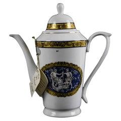 Limoges Porcelain Teapot, 1950s