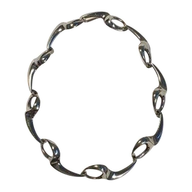 Bent Knudsen Sterling Silver Necklace No 46