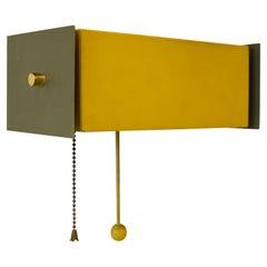 Robert Gage Heifitz Style Wall Hanging Adjustable Sconce Wall Hanging Lamp
